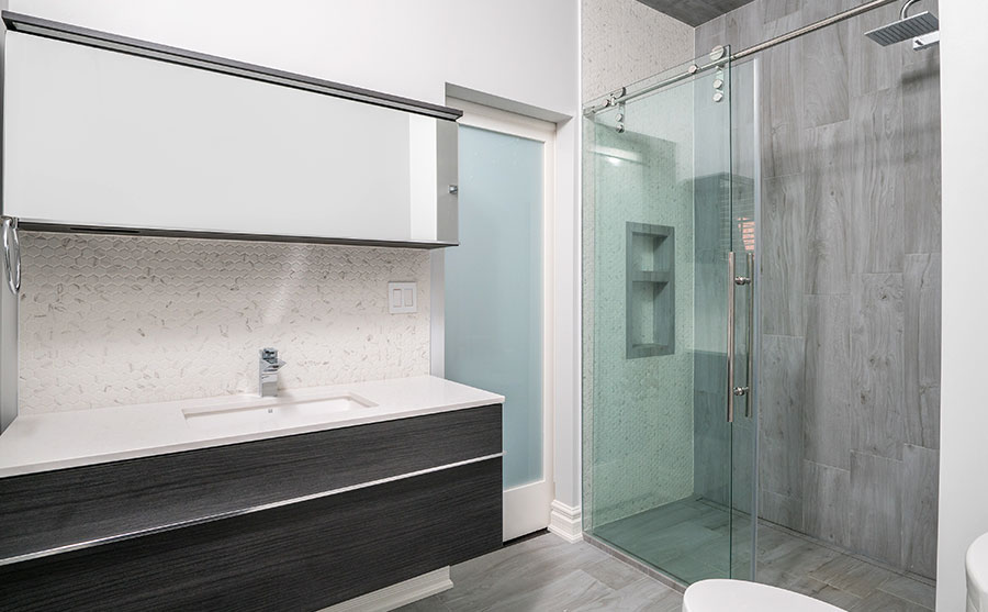 Beautiful shared bathroom renovation in Richmond Hill