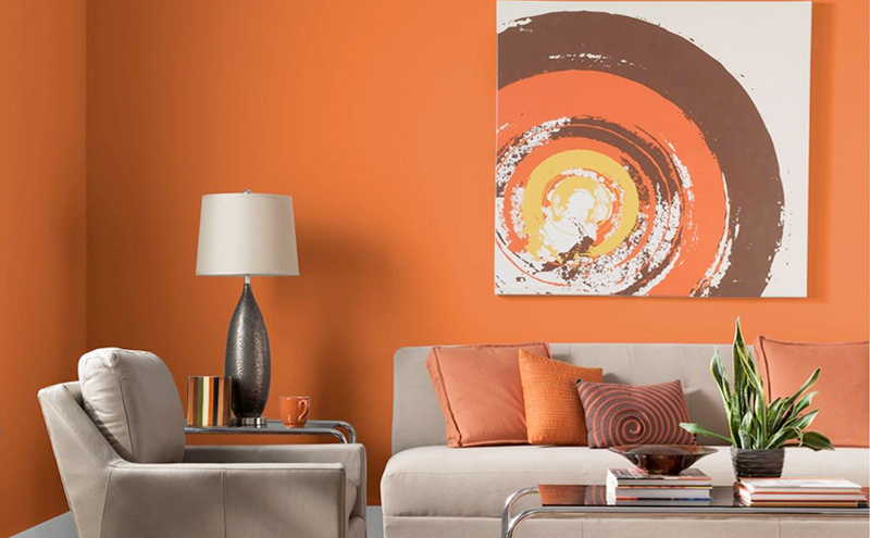 Bright and bold paint colours can end up as a turn off to potential homebuyers in Woodbridge - home renovation