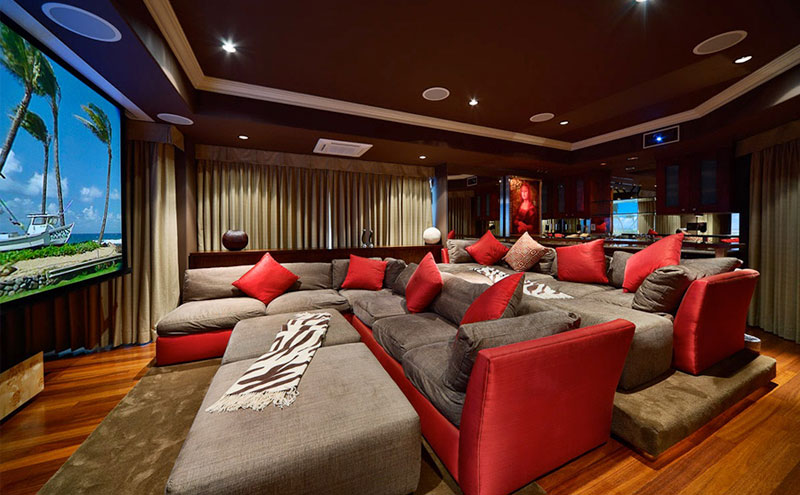 Home Theatre - Basement Remodeling in Caledon