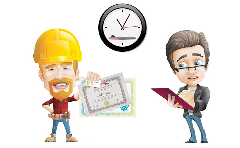 Check the contractor's credentials before hiring a home renovation contractor in Vaughan