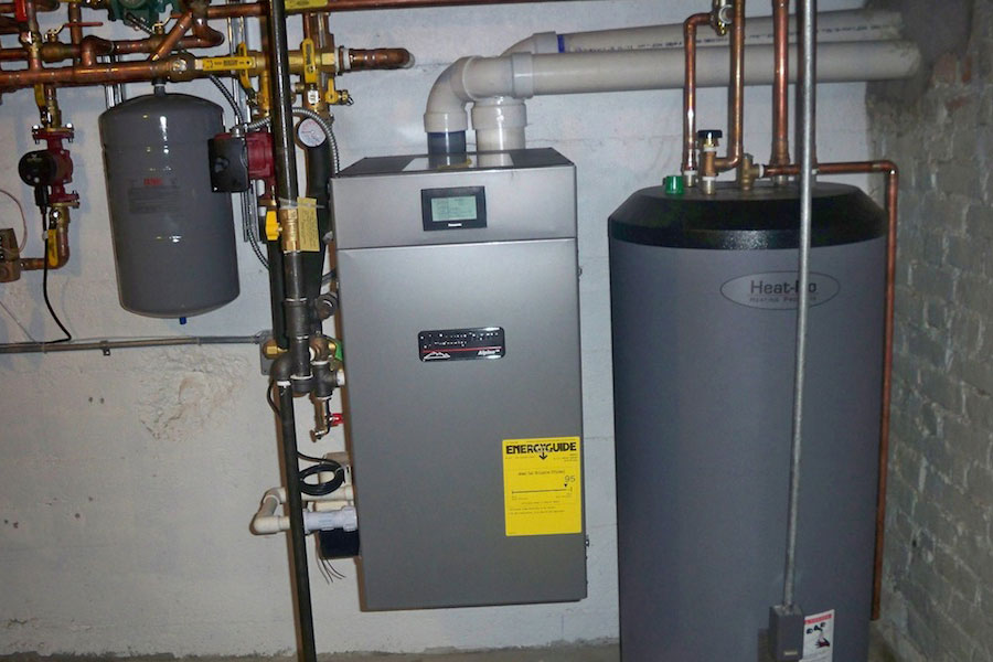 Condensing-based water heaters