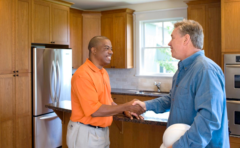 Conduct interviews before hiring a contractor to renovate your house