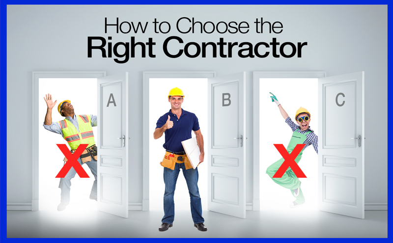 How to choose the right contractor - Home renovation Vaughan