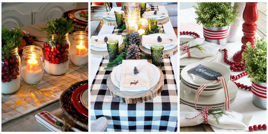 Layer your table decor