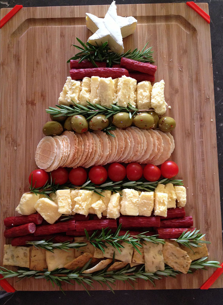 Laying out some snacks in a decorative way can also entertain your guests