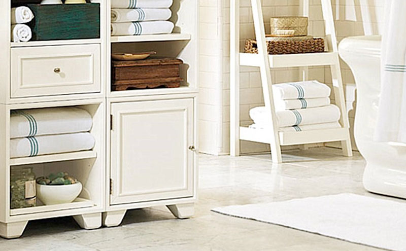 Make sure you get plenty of storage when renovating your home bathroom in Vaughan