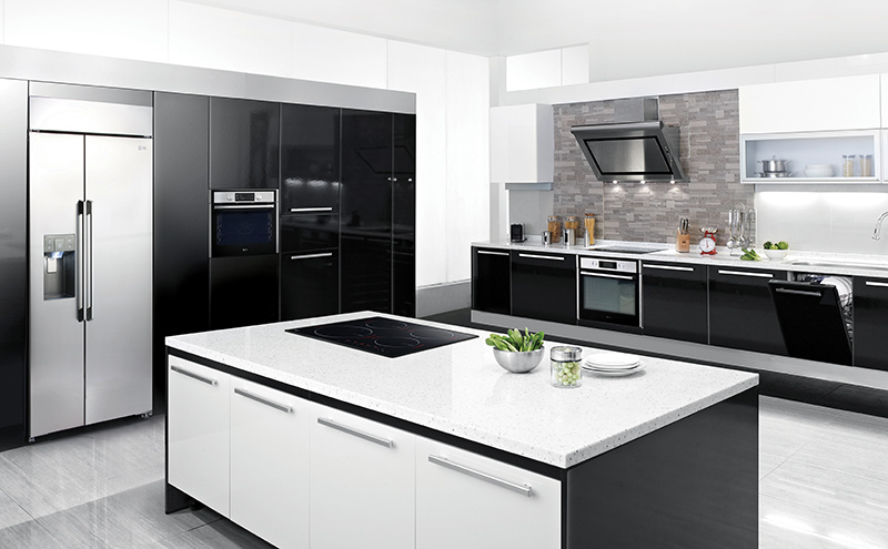Make your kitchen functional and stylish with mount and built in appliances