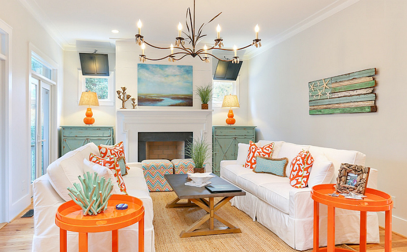 Mixed Patterns and Textures for Summer redecorating in King City