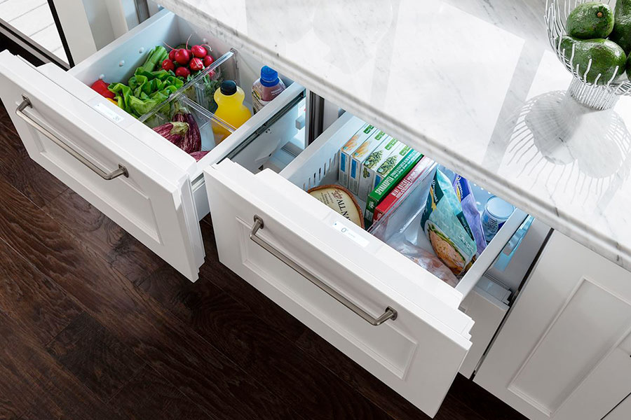 Refrigerated Drawers.