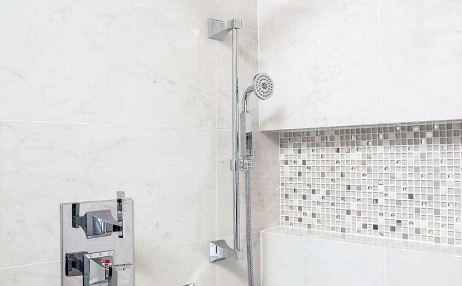 Rubinet Faucet Company's ICE shower hardware