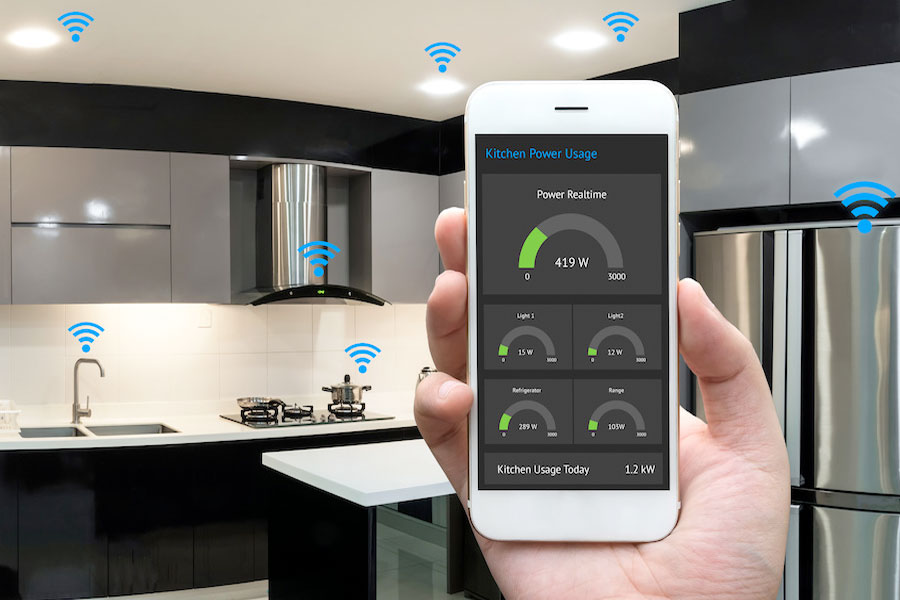 Smart kitchen appliances.