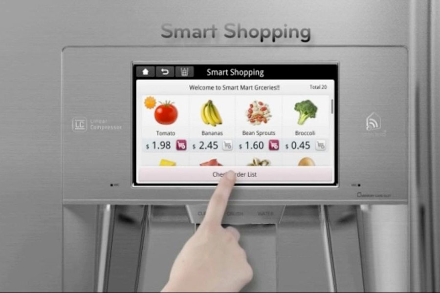 LG SmartThinQ fridge,smart technology appliances