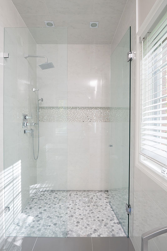 Spa like shower - bathroom remodeling