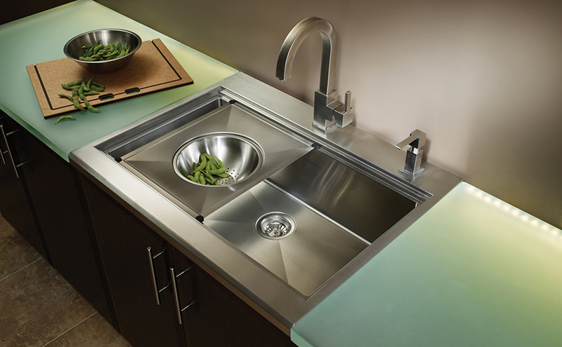 Stainless Steel Sink - Vaughan - Kitchen Renovation