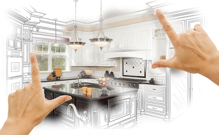 Free in home kitchen renovation consultation in Vaughan