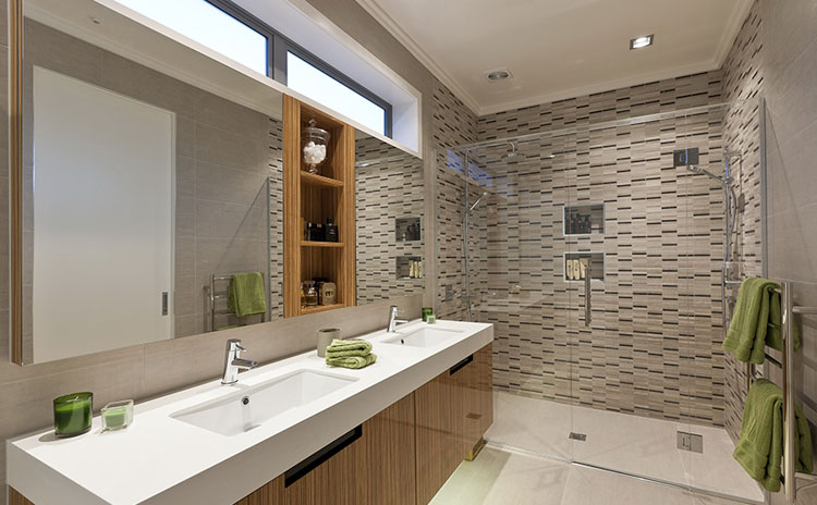 Do get enoght lighting and ventilation - bathroom renovation in Caledon East