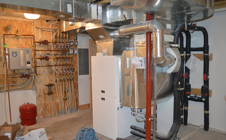 Check the airconditioner, furnace and water heater before renovating your basement