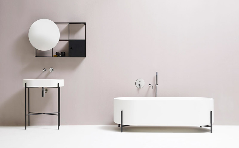 Minimalistic bathrooms