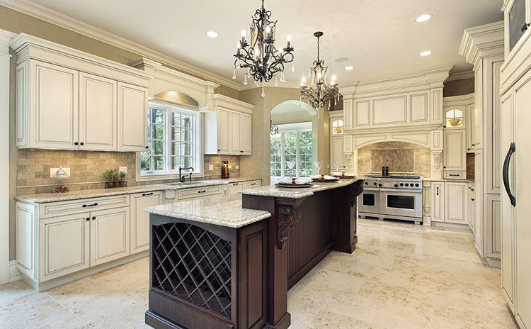 Traditional kitchen remodel in Mill Pond